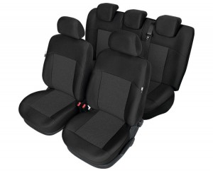 Citroen Berlingo II pokrowce miarowe TAILOR MADE front & rear